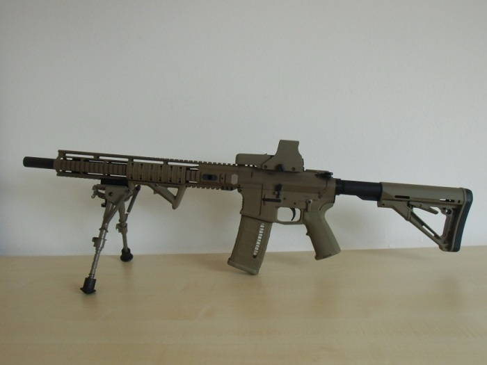 HERA Arms the 15th FDE EOTech