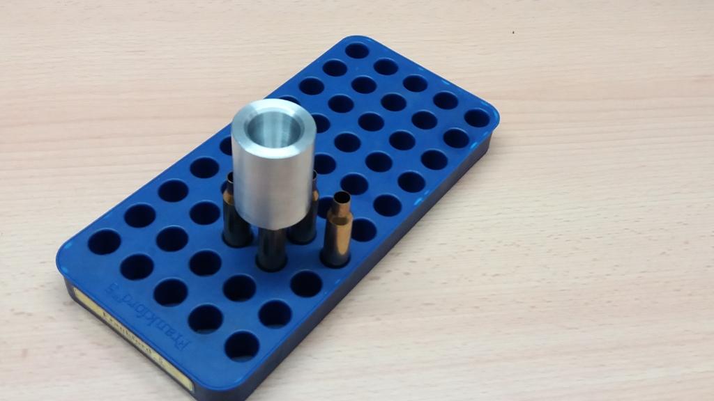 Pulvertrichter 6,5x55 Schwede