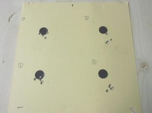Schussbild AR-15 Hera Arms Kompensator