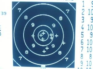 Schussbild Hera Arms 300m 2.2